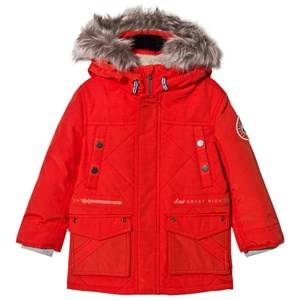 IKKS Boys Coats and jackets Orange Orange Padded Parka