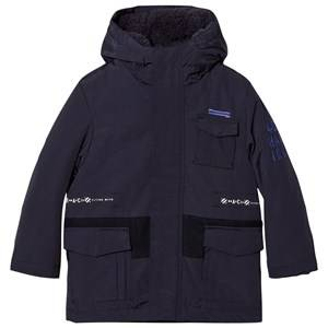IKKS Boys Coats and jackets Navy Navy 2-in-1 Hooded Parka/Bomber Jacket