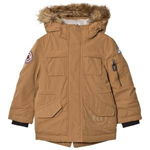 IKKS Boys Coats and jackets Beige Camel Padded Parka