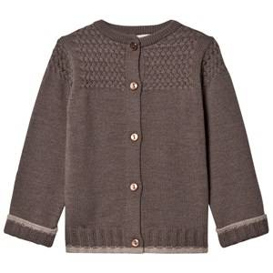 Lillelam Unisex Jumpers and knitwear Brown Basic Cardigan Brown