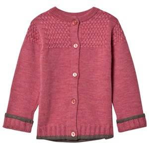 Lillelam Unisex Jumpers and knitwear Pink Basic Cardigan Pink