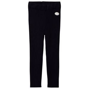 Lillelam Unisex Bottoms Navy Winter Rib Leggings Navy