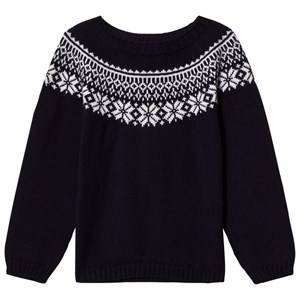 Lillelam Unisex Jumpers and knitwear Navy Winter Sweater Navy
