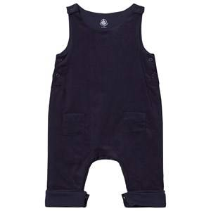 Petit Bateau Unisex All in ones Blue Lounge Overalls Marine