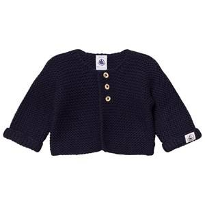 Petit Bateau Unisex Jumpers and knitwear Blue Cardigan Smokin Marine