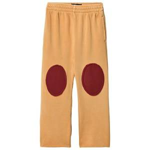 The Animals Observatory Unisex Bottoms Yellow Horse Pants Yellow Plain