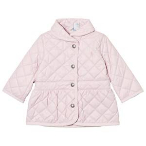 Ralph Lauren Girls Coats and jackets Pink Pink Quilted Barn Jacket