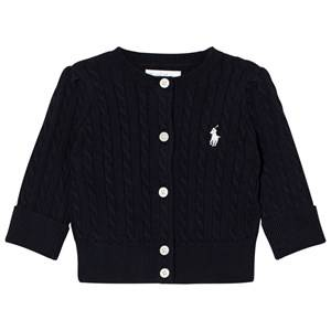 Ralph Lauren Girls Jumpers and knitwear Navy Navy Long Sleeve Mini Cable Cardigan