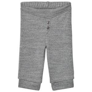 Noa Noa Miniature Boys Bottoms Grey Basic Wool Leggings Grey