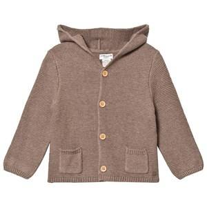 Cyrillus Unisex Jumpers and knitwear Brown Knitted Cardigan Taupe Marl