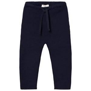 Cyrillus Boys Bottoms Navy Navy Knit Leggings