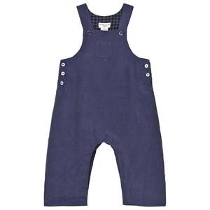 Cyrillus Unisex All in ones Navy Corduroy Overalls Faded Blue