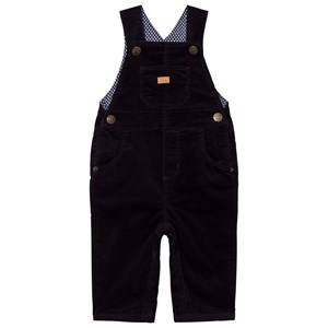 Cyrillus Boys All in ones Navy Corduroy Overalls Ink Blue