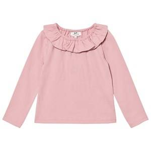 Cyrillus Girls Tops Pink Pink Pierrot Collar Tee
