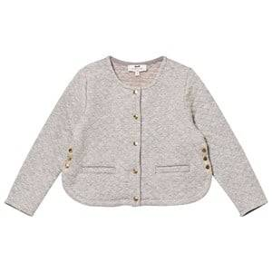 Cyrillus Girls Coats and jackets Blue Grey Quilted Cardigan