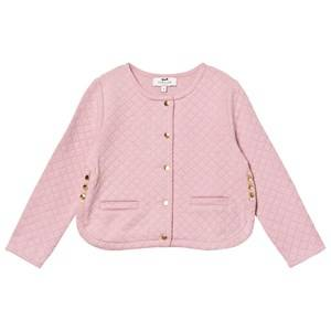 Cyrillus Girls Coats and jackets Pink Pale Pink Quilted Cardigan