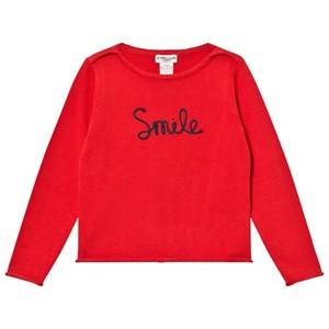 Cyrillus Girls Jumpers and knitwear Red Type Embroidered Sweater Red