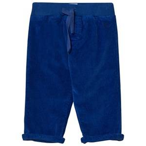 Petit Bateau Unisex Bottoms Blue Corduroy Trousers Blue