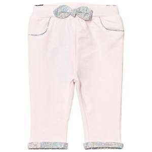 Cyrillus Girls Bottoms Pink Pale Pink Pants Floral Bow