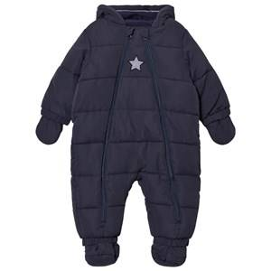 Cyrillus Boys Coveralls Navy Navy Hooded Coverall