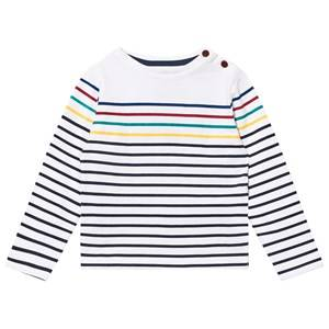 Cyrillus Boys Tops Multi Multi Stripe Long Sleeve Tee