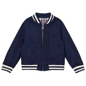Ralph Lauren Girls Coats and jackets Pink Reversible Baseball Jacket Navy/Pink