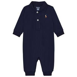 Ralph Lauren Boys All in ones Grey Navy Baby One-Piece