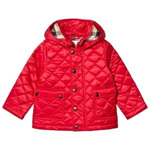 Burberry Boys Coats and jackets Red Red Jamie Quilted Hooded Jacket