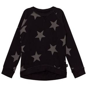 NUNUNU Unisex Jumpers and knitwear Black Star Sweatshirt Black