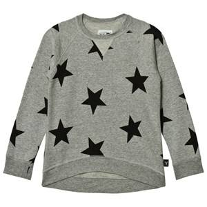 NUNUNU Unisex Jumpers and knitwear Grey Star Sweatshirt Heather Grey