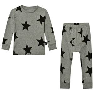 NUNUNU Unisex Clothing sets Grey Star Loungewear Heather Grey