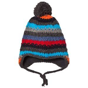 Barts Boys Headwear Black Skeely Inka Beanie Dark Heather