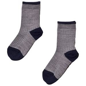 FUB Unisex Underwear Grey 2 Pack Socks Grey