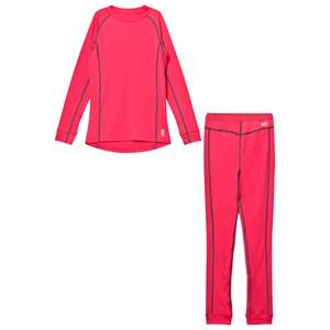 Barts Girls Baselayers Pink Pink Base Layer Outfit