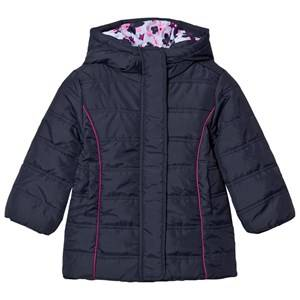 Hatley Girls Coats and jackets Navy Navy Quilted Puffer Coat