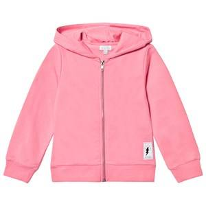 Civiliants Unisex Jumpers and knitwear Pink Flash Print Zip Hoodie Pink