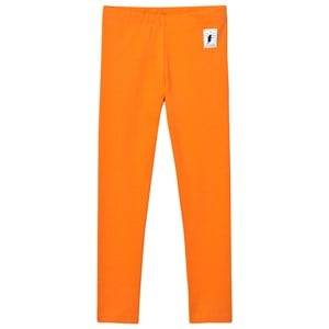 Civiliants Unisex Bottoms Orange Jersey Leggings Orange