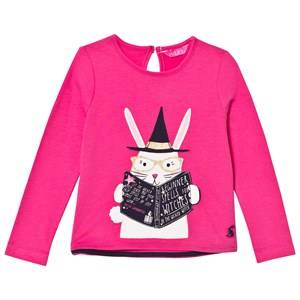 Tom Joule Girls Tops Pink Pink Magic Rabbit Applique Tee