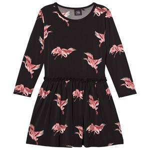Petit by Sofie Schnoor Girls Dresses Black Bird Dress Black