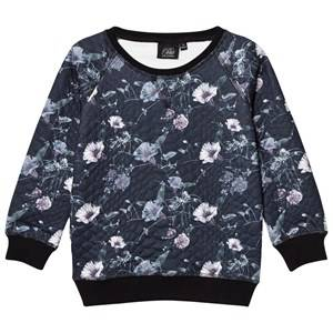 Petit by Sofie Schnoor Girls Jumpers and knitwear Black Sweater Black Floral