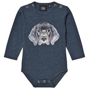 Petit by Sofie Schnoor Unisex All in ones Navy Baby Body Petrol
