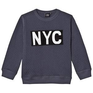 Petit by Sofie Schnoor Unisex Jumpers and knitwear Blue Sweatshirt Nyc Dark Blue