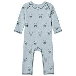 Petit by Sofie Schnoor Unisex All in ones Grey Bulldog One-Piece