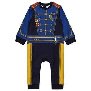 Dolce & Gabbana Boys All in ones Blue Blue Military Print One-Piece