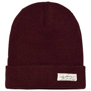 I Dig Denim Unisex Headwear Red Morris Beanie Burgundy