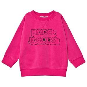 Little Marc Jacobs Girls Jumpers and knitwear Pink Pink Branded Sweatshirt