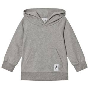 Civiliants Unisex Jumpers and knitwear Grey Branded Pullover Hoodie Grey