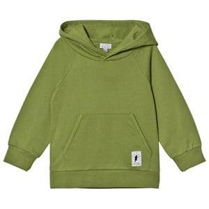 Civiliants Unisex Jumpers and knitwear Green Branded Pullover Hoodie Green