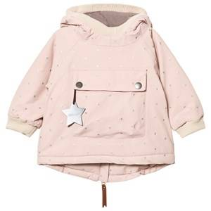 Mini A Ture Unisex Coats and jackets Pink Baby Wen B Jacket Rose Smoke