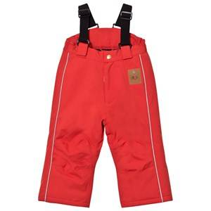 Mini Rodini Unisex Bottoms Red K2 Trousers Red
